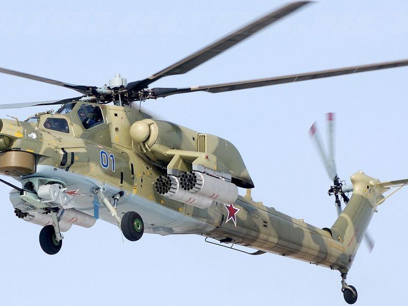 В РФ разбился военный вертолет, который принимал участие в захвате украинских катеров в Керченском проливе