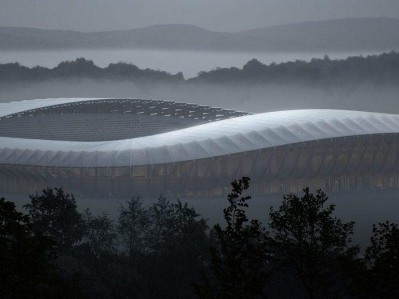 В Англии построят первый в мире деревянный стадион (ФОТО)
