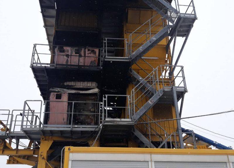 На Николаевщине будут судить двух одесситов, которые сожгли имущество белорусского асфальтового завода в Новобугском районе