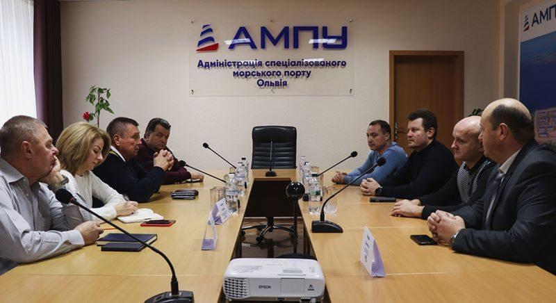 ГП «Укроборонсервис» станет портовым оператором николаевского спецморпорта «Ольвия» (ФОТО)