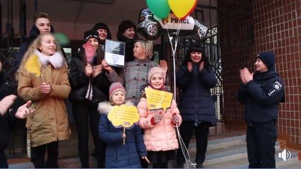 Николаевская школа №11 стала победителем всеукраинского хештег-марафона #SpeakUpUkraine по безопасности дорожного движения (ВИДЕО)