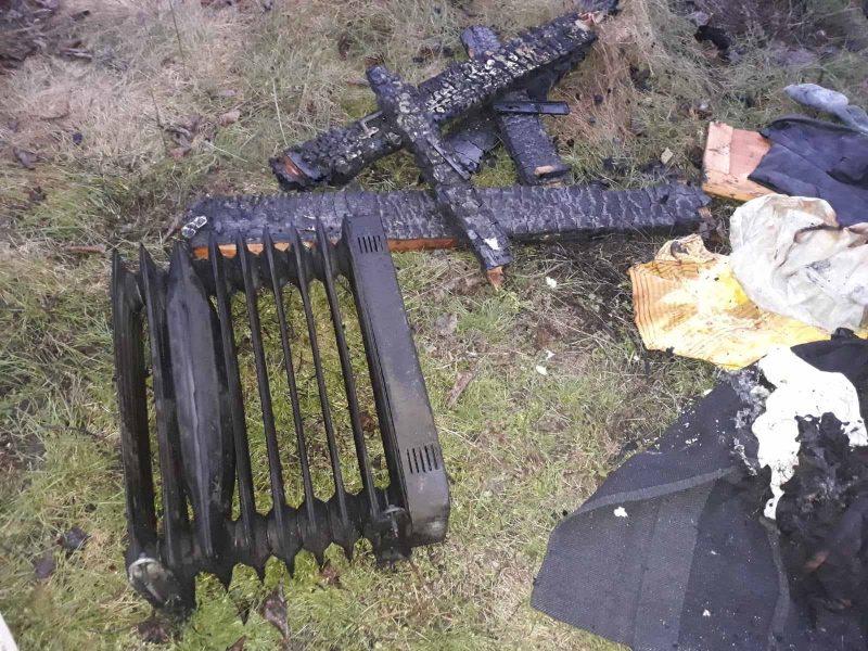 На Николаевщине спасатели ликвидировали 4 пожара в жилом секторе и потушили автомобиль Chevrolet Aveo