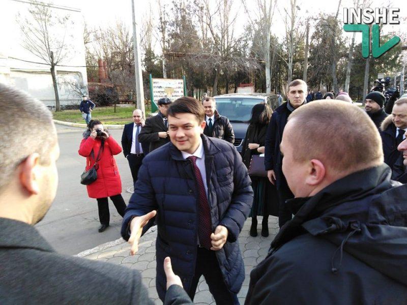 Дмитрий Разумков прибыл в Николаев (ФОТО)