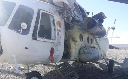 В Афганистане ракета попала в вертолет из Молдовы, пострадали украинцы – СМИ