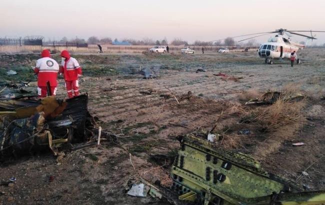 Все пассажиры и экипаж украинского самолета, упавшего в Тегеране, погибли (ФОТО)
