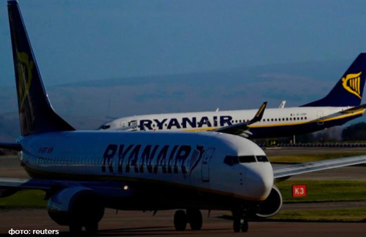 Ryanair открыл второй рейс  из Херсонского аэропорта в Польшу