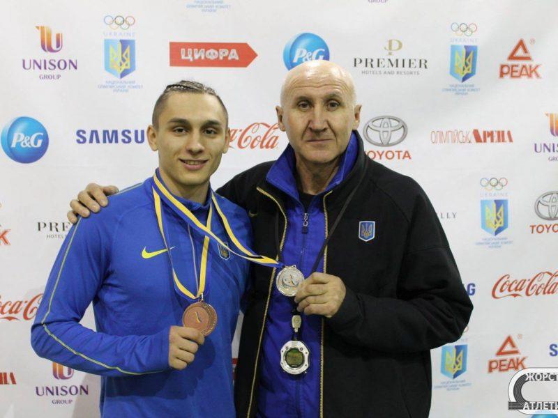Медали николаевцев на чемпионате Украины по легкой атлетике: у Соколова – «золото», у Окуневой – «бронза»