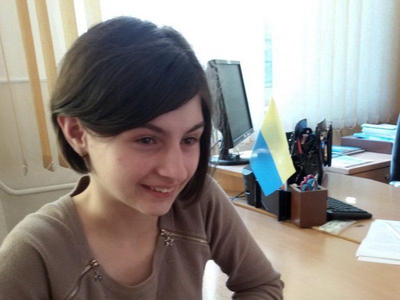 Девочка из Николаева победила во всеукраинском конкурсе в номинации «За нестандартное изложение материала» (ФОТО)