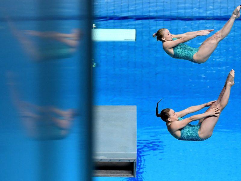 Две прыгуньи в воду из Николаева добыли «бронзу» в Мадриде (ФОТО)