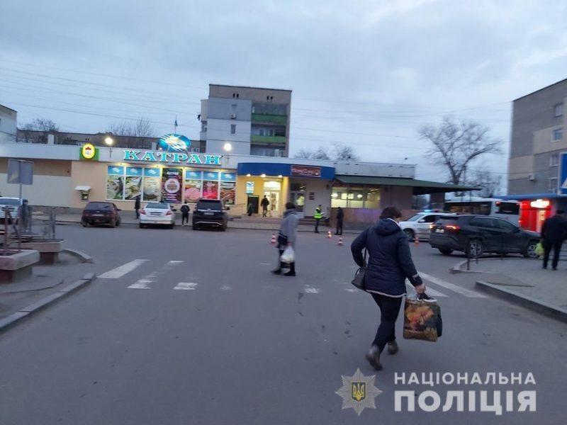 На Николаевщине водитель-россиянин сбил пожилую женщину и скрылся с места ДТП (ФОТО, ВИДЕО)