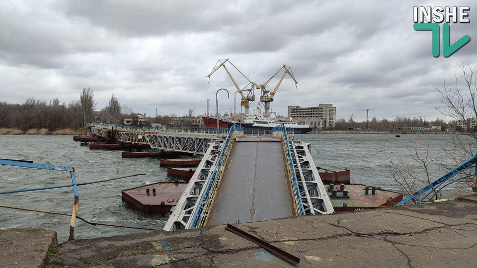 В мэрии Николаева хотят модернизировать понтонный мост: из пешеходного в автомобильный (ВИДЕО) 13