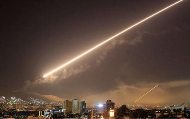Израиль нанес авиаудары в районе Дамаска