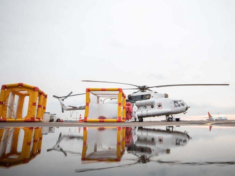 Защититься от коронавируса. Аваков рассказал о проверках на границах и вертолете для эвакуации (ФОТО, ВИДЕО)