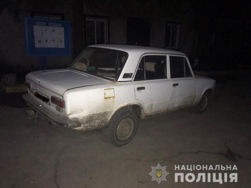 Собутыльники угнали ВАЗ у жителя Первомайска