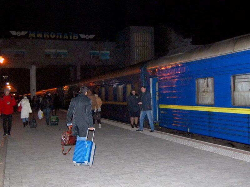 Теперь в двух «николаевских» поездах охрану общественного порядка обеспечивают полицейские охраны Николаевской области (ФОТО)