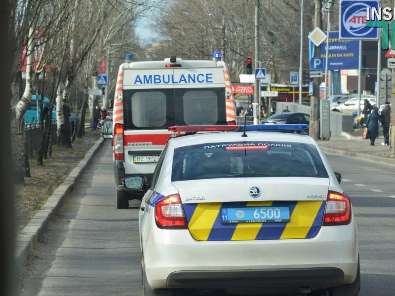 Акция «Внимание! Спецсигнал» в Николаеве: Карету «скорой» не пропускали маршрутки и коммунальный транспорт