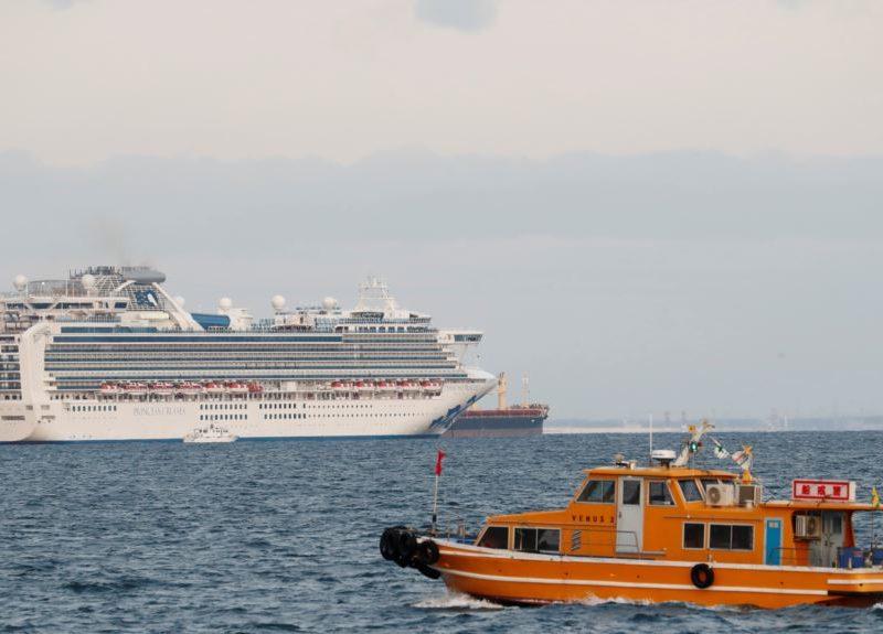 В Японии на заблокированном из-за коронавируса лайнере могут быть 20 украинцев, – СМИ