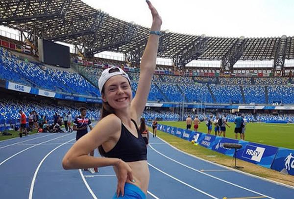 Николаевская прыгунья в высоту Юлия Чумаченко стала второй на международных соревнованиях в Польше