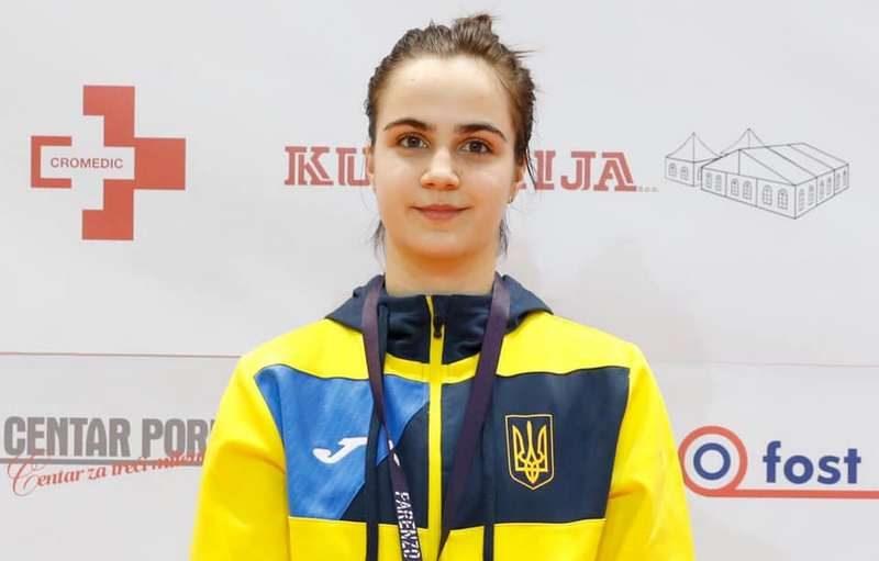 Николаевская саблистка Александра Бондарь добыла «серебро» чемпионата Европы среди кадетов