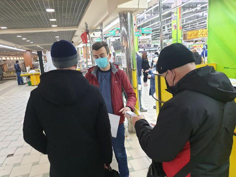 В Николаеве за нарушение карантинных требований оштрафовали управляющего магазином «33 квадратных метра» (ФОТО)