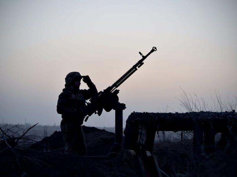 Николаевские морпехи отработали тактические действия ночью с боевой стрельбой (ФОТО)