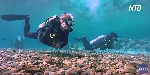 Ученые изучают коралловый риф, который может стать последним на планете (ВИДЕО)