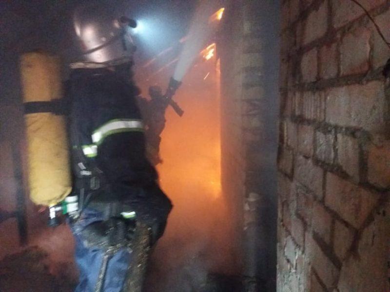 Деревянные паллеты, хозпостройка и крыша дома – что за сутки тушили спасатели Николаевщины (ФОТО)