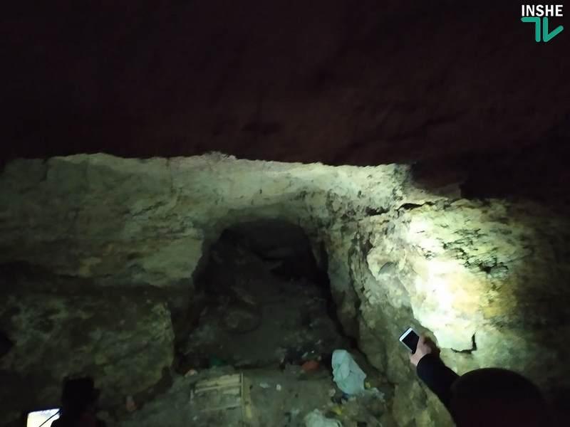 В Николаеве начали расчищать вход в катакомбы (ФОТО)