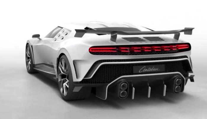 Роналду приобрел за 9,5 млн евро лимитированную модель Bugatti