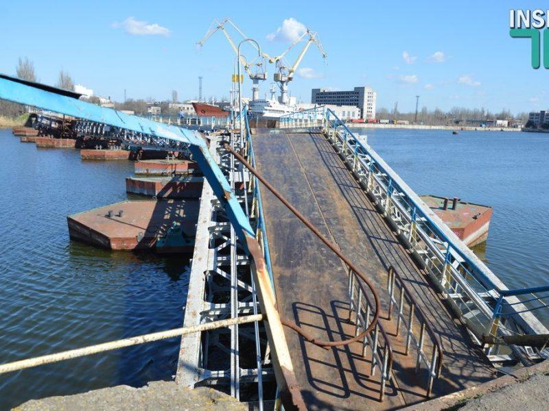 Владислав Чайка о предложении «Укроборонпрома»: «Строить новый мост через Ингул на основе понтонного пешеходного нет смысла»