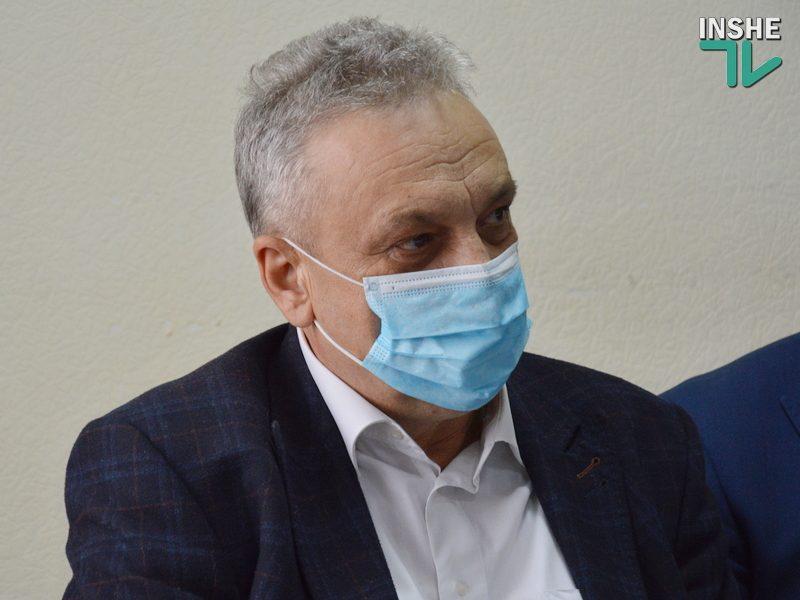 Главным санитарным врачом Николаевской области снова стал Владимир Клочко (ВИДЕО)