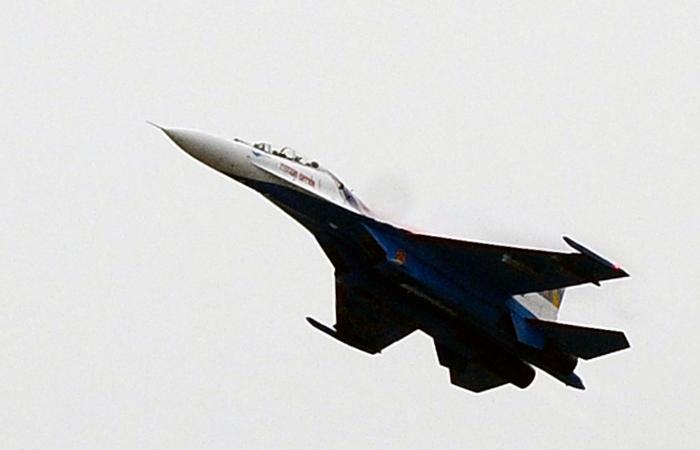 В РФ упал Су-24