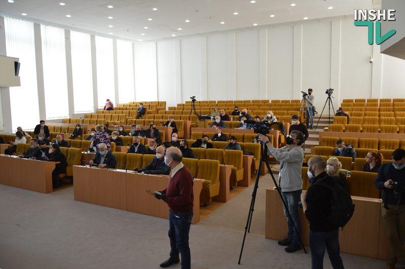 Стартовала сессия Николаевского облсовета: депутаты хотят пожаловаться Зеленскому на Стадника и попросить наложить вето на введение рынка земли
