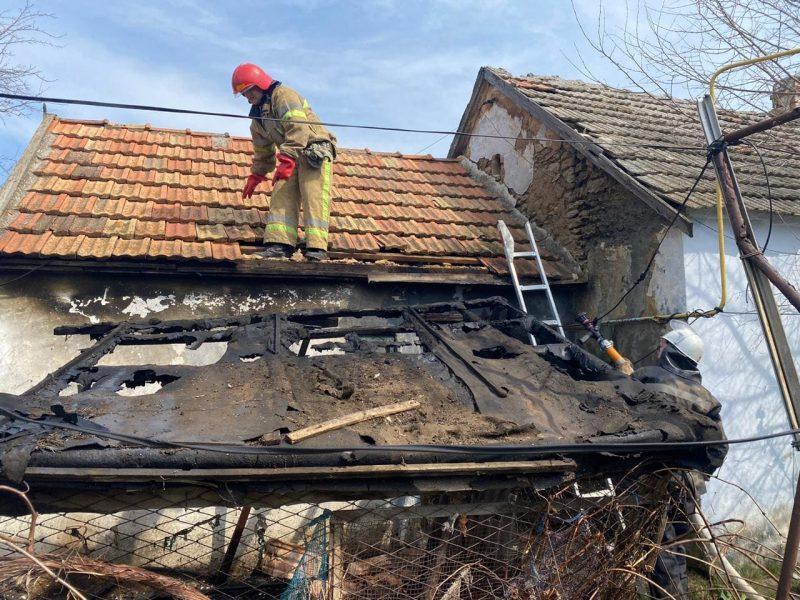 За сутки на Николаевщине спасатели дважды выезжали на пожары в частный сектор (ФОТО)