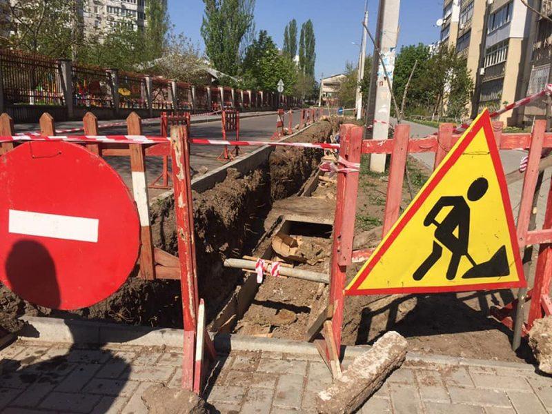 «Николаевоблтеплоэнерго» готовит замену тепловых сетей по ул. Галины Петровой и Архитектора Старова (ФОТО)