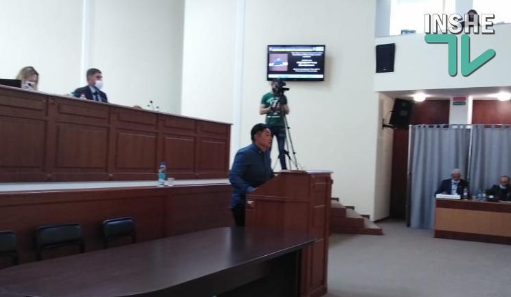 На должность первого зама главы Николаевского облсовета Москаленко предложила Тахира Садридинова