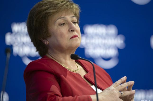Глава МВФ после разговора с Зеленским заявила о необходимости «полного согласования действий»
