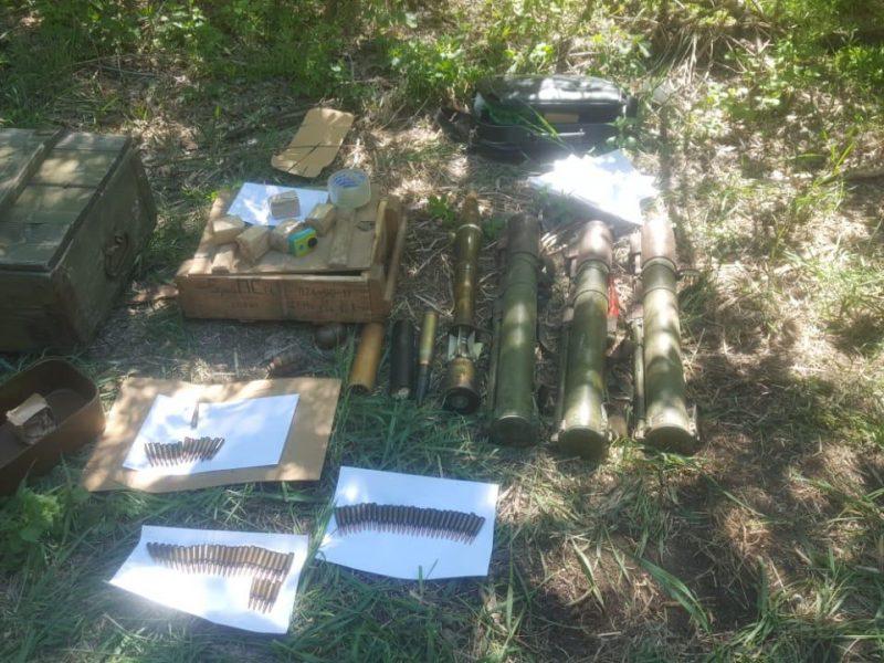 В Донецкой области обнаружены боеприпасы, которые могли быть использованы для диверсии на мирной части Украины (ФОТО)