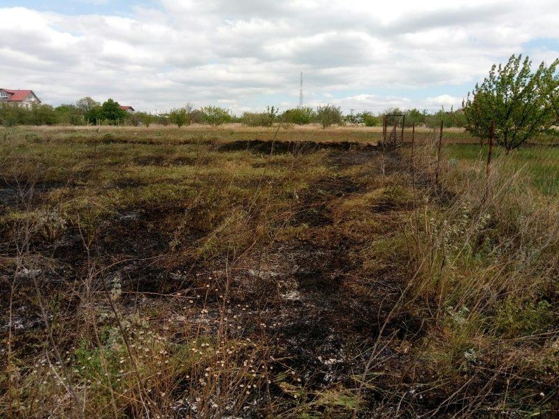 За сутки на Николаевщине выгорело 4,5 га открытых территорий (ФОТО)