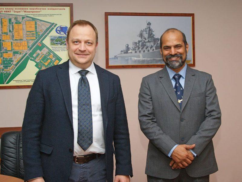 Николаевская «Зоря»-«Машпроект» успешно провела приемо-сдаточные испытания продукции по-новому – индийская сторона подписала акт приемки