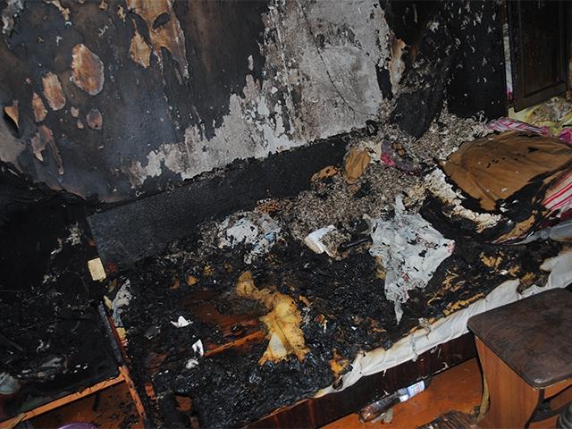 Первомайский пожар-2: в Николаеве спасли пожилую женщину