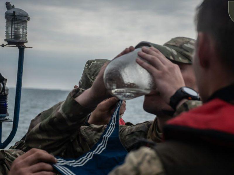 Как разведчики очаковского морского центра спецопераций «оморячивались» (ФОТО)