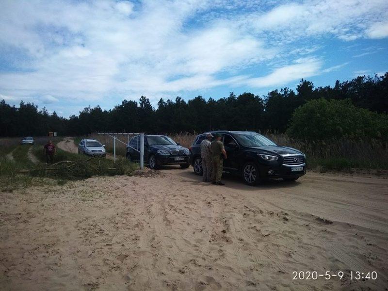 На въезде на Кинбурнскую косу со стороны Херсонской области заработал КПП (ФОТО)