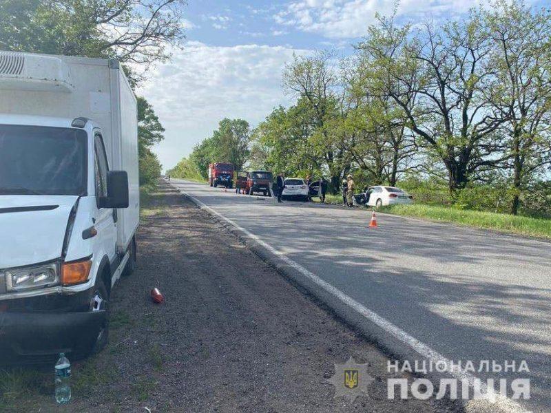 Водителя, устроившего утром смертельное ДТП на Николаевщине, задержали