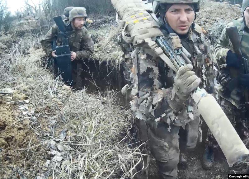 Штаб ООС показал российский спецназ на Донбассе (ФОТО, ВИДЕО)