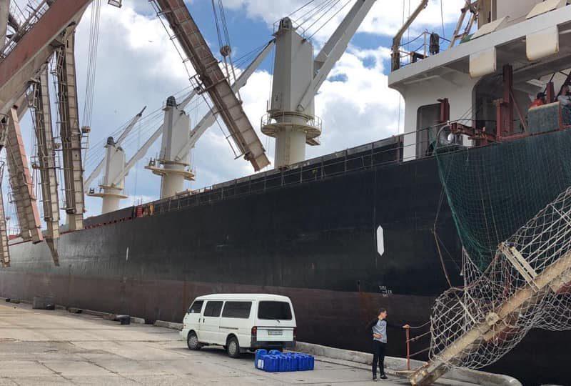 На иностранном судне в одном из николаевских портов таможенники выявили незадекларированные химические вещества (ФОТО)