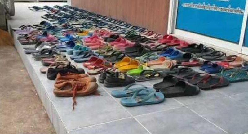 В Таиланде мужчина украл 126 пар обуви, чтобы… заняться с ними сексом (ФОТО)