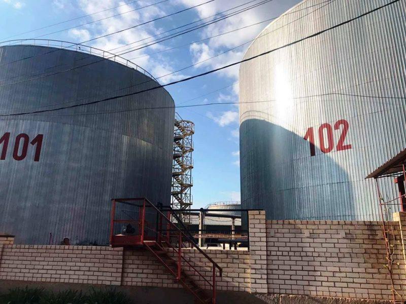 Налоговой милицией Николаевской области прекращен незаконный экспорт подсолнечного масла общей стоимостью 60 млн гривен (ФОТО)