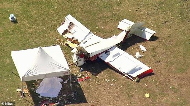 Пилот в Австралии разбился на собранном самостоятельно самолете