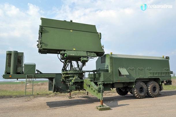 Укроборонпром показал новую радиолокационную станцию